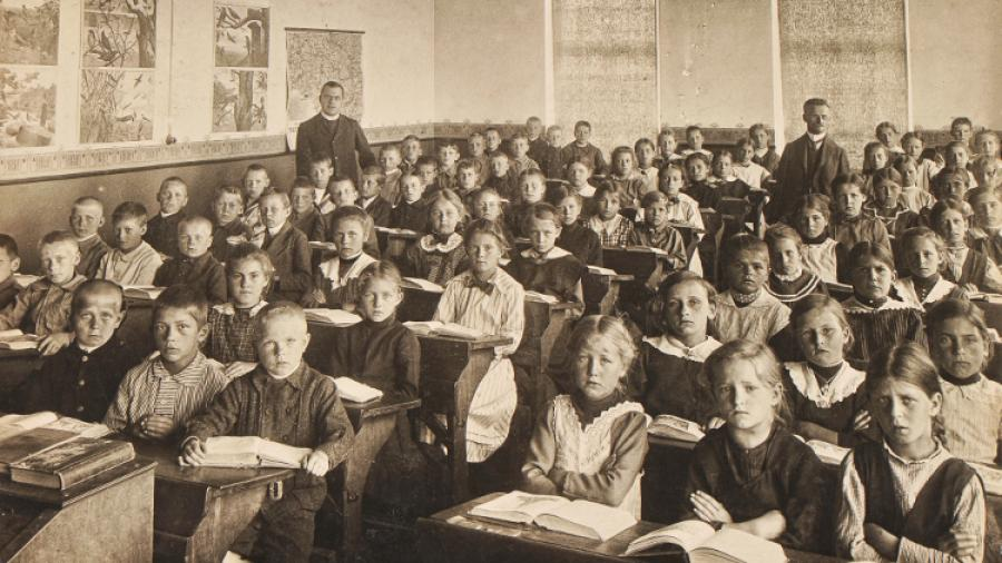 Børn i gamle dage