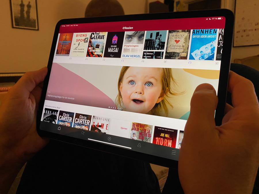 Læsning på iPad